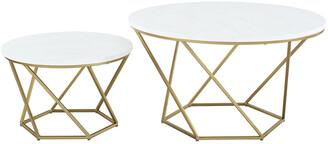 Hewson Geometric Nesting Coffee Tables