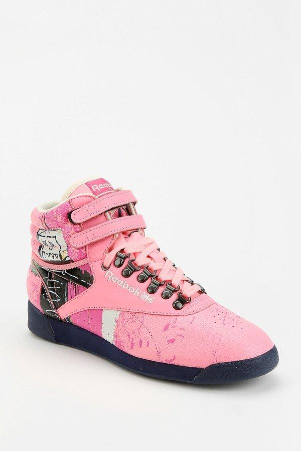 Reebok Freestyle Basquiat High-Top Sneaker