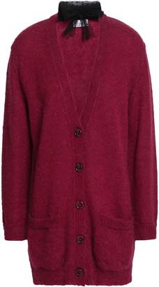 RED Valentino Mohair-blend Cardigan