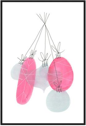 Jonathan Bass Studio Ornaments 2, Decorative Framed Hand Embellished Ca