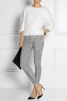 Paige Verdugo harlequin-print skinny jeans