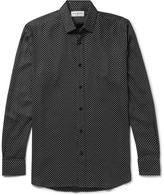 Saint Laurent - Star-print Twill Shirt