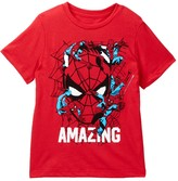 Mighty Fine Amazing Spidey Pose Collage Tee (Toddler & Little Boys)