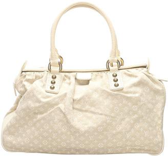 Louis Vuitton Brown/Beige Mini Lin Canvas Trapeze GM Bag