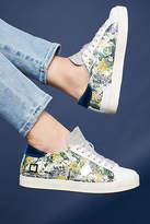 D.A.T.E Glittering Flower Sneakers