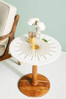 Anthropologie Brass Starburst Coffee Table