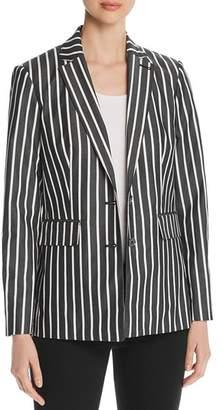 Karl Lagerfeld Paris Striped Blazer