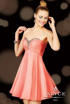 Alyce Paris Homecoming - 3598 Dress in Pnk Coral