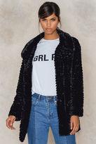 Rut & Circle Norma fur jacket
