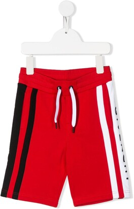 Givenchy Kids Stripe Detail Shorts
