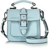 Armani Jeans New Light Blue Eco Leather Crossbody Bag