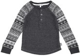 Splendid Little Boy Fair Isle Thermal Henley