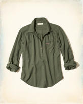 Hollister Icon Popover Shirt