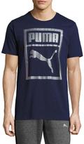 Puma Cotton Holographic Tee