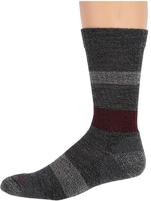 Smartwool Barnsley Crew (Black) Men's Crew Cut Socks Shoes