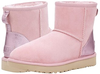 UGG Classic Mini II Metallic (Pink Cloud) Women's Boots