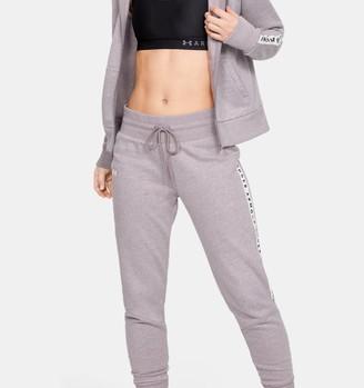 Under Armour Women's UA Taped Fleece Pants