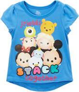 Children's Apparel Network Disney Tsum Tsum Purple 'Stack Together' Tee - Toddler