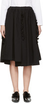 Comme des Garcons Black Ruffle Skirt