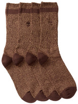 Timberland Marled Crew Socks - Pack of 2