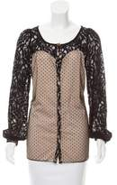 ALICE by Temperley Lace Long Sleeve Top