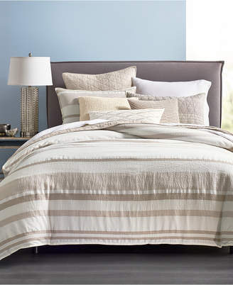 Hotel Collection Honeycomb Full/Queen Duvet Cover, Bedding