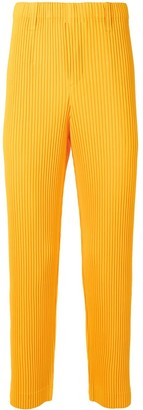 Homme Plissé Issey Miyake Pleated Straight Trousers
