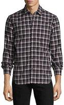 Ovadia & Sons Midwood Plaid Long-Sleeve Shirt