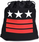 Givenchy stars and stripes drawstring backpack - unisex - Cotton/Polyamide/Polyurethane - One Size
