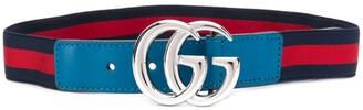 Gucci Kids Elasticated Logo Belt
