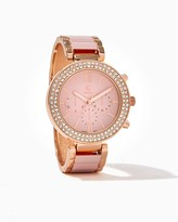 Charming charlie Rhinestone Bezel Watch
