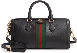 Gucci Ophidia Leather Top Handle Bag