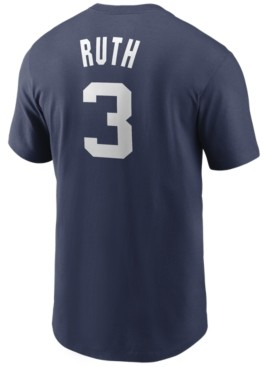 Nike New York Yankees Men's Coop Babe Ruth Name and Number Player T-Shirt