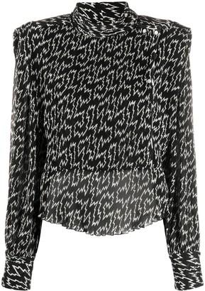 Isabel Marant Igalki silk blouse