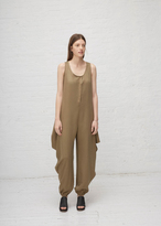 Dusan Draped Drape Side Jumpsuit
