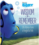 Disney Finding Dory: Wisdom to Remember Book
