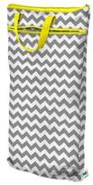 Bed Bath & Beyond Planet Wise Hanging Wet/Dry Bag in Grey Chevron