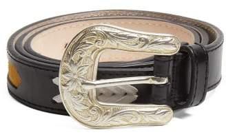 Isabel Marant Tigoo Leather Belt - Womens - Black