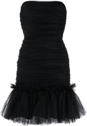 Brognano Ruffled-Hem Tulle Dress