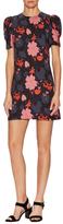 Jill Stuart Jana Floral Print Mini Dress