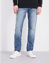 True Religion Rocco flap relaxed skinny-fit jeans