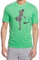 Nike Lax Legend Action Shot Dri-fit Lacrosse Shirt (XL, Spark)