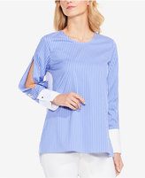 Vince Camuto Split-Sleeve Colorblocked Blouse