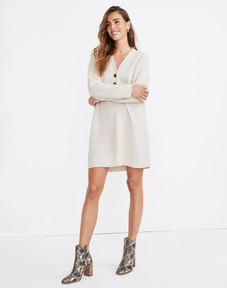 Madewell Henley Sweater Dress
