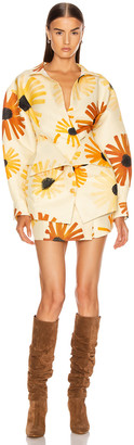 Jacquemus La Robe Murano in Print Flowers | FWRD