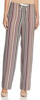 Theory Winszlee Resort Stripe Silk Pants