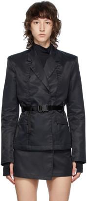 Alyx Black Nylon Blazer