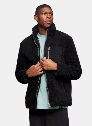 Topman Black Borg Jacket