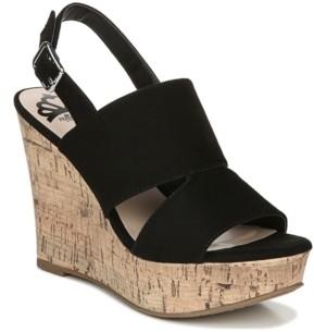 Fergalicious Valencia Wedge Dress Sandals Women's Shoes