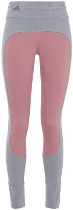 adidas by Stella McCartney Two-tone Stretch Leggings